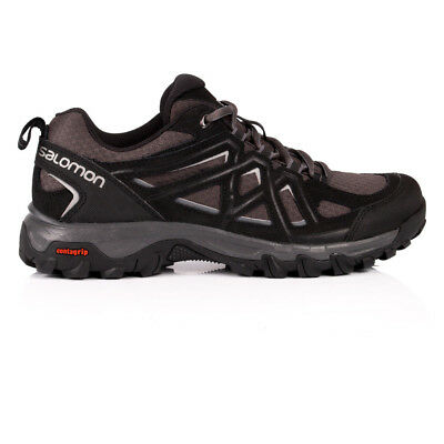Salomon Evasion 2 Aero Mens Black Outdoors Walking Camping Shoes Trainers