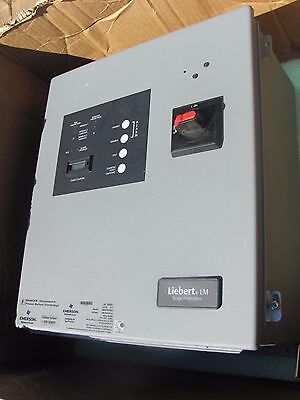 EMERSON LIEBERT LM SERIES SURGE PROTECTION 240V 3PH M240HAAC TYPE D Delta Hi-Leg