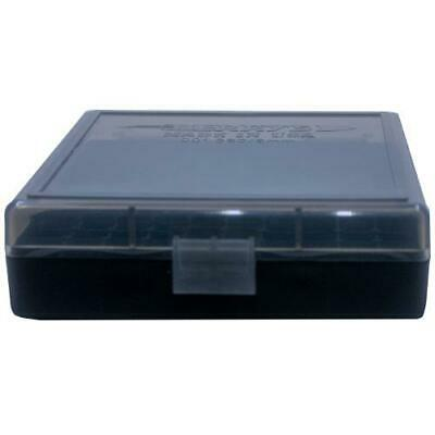 AMMO BOXES (5) SMOKE 100 Round 9MM / 380 - Berry's Plastic Container
