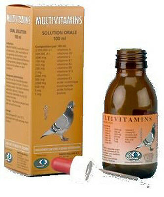 Pigeon Product - Multivitamins 100ml for Pigeons by Pantex - Racing Pigeons