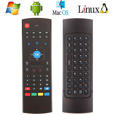 2.4GHz Remote Control Wireless Keyboard Air Mouse for Smart TV Android Box PC CA