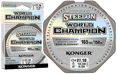Angelschnur KONGER World Champion Fluorocarbon Coated 0,10-0,30mm/150m Monofile