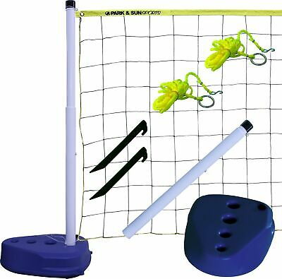 Park & Sun Sports Portable Indoor/Outdoor Swimming Pool Volleyball Net Syste