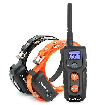 Petrainer PET916-2 Dog Shock Collar for 2 Dogs, 330 yd Remote Dog Training Colla