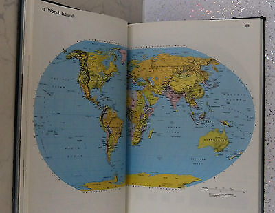 Large book reader's digest atlas of the world book