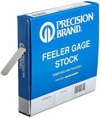 "PRECISION BRAND FEELER GUAGE .017 X 1//2/"" X 12 .432MM"