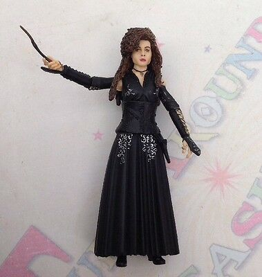 "Harry Potter Half Blood Bellatrix Lestrange & Wand Popco Ltd 4"" Figure VERY RARE"