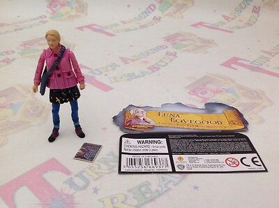 "Harry Potter Half Blood Luna Lovegood Popco Ltd 3.5"" Figure VERY RARE"