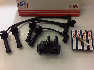 FORD FOCUS mk2 & C MAX 1.4 1.6 16V IGNITION COIL PACK,PLUGS & LEADS 2005-10