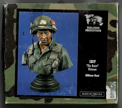 "VERLINDEN 1317 - ""THE GRUNT"" VIETNAM - 200mm RESIN KIT"