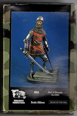 VERLINDEN 1211 - EARL OF WARWICH Ca.1400 - 160mm RESIN KIT