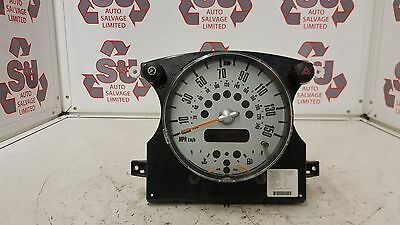 Bmw Mini Cooper R52 R50 R53 Speedo Clocks Dials Display Instrument 67379411
