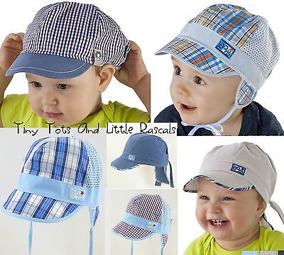 Baby Boys Toddlers Legionnaires Holiday Beach Summer Cap Hat Size 9mth - 6 years