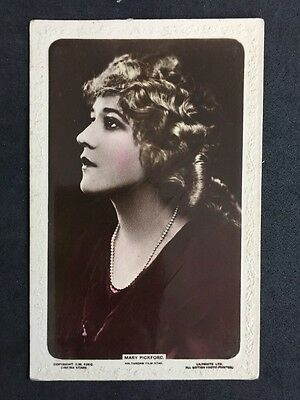 Vintage Postcard: Actress: #A37 : Mary Pickford : Lilywhite