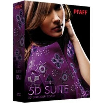 Pfaff 5D Suite Embroidery Software Professionale per ricamo