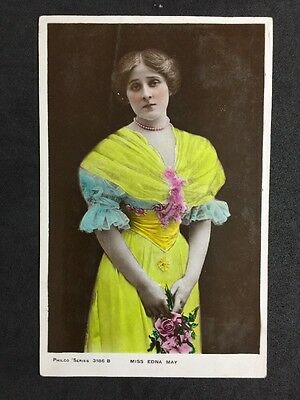 Vintage Postcard: Actress: #A42 : Miss Edna May : Philco 1907