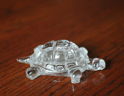 Vintage Collectible Glass Turtle Figurine