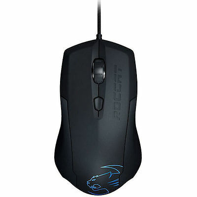 ROCCAT Lua Tri-Button USB Wired Optical Gaming Mouse Right/Left Handed 2000DPI