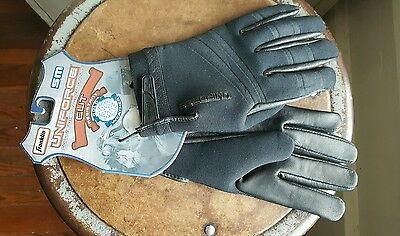 Franklin Uniforce Cold Weather Tactical Gloves Cut Black Size Small S