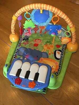 Fisher-Price Kick and Play Piano Gym - Music and sounds - infant baby play mat