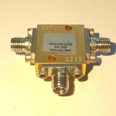 Picosecond Pulse Labs, 5370-104-20dB pickoff tee, DC to  25 GHz, SMA