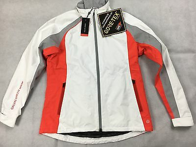 Galvin Green Amber Ladies Gore Tex Golf Jacket SMALL WHITE RRP£250