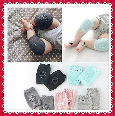 Safety Crawling Knee Elbow Pads Leg Protector Anti-Slip for Infant Toddler Baby