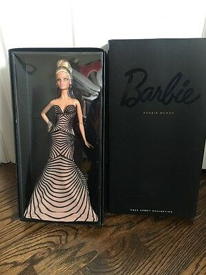 ZUHAIR MURAD HOLLYWOOD RED CARPET BARBIE DOLL GOLD LABEL New