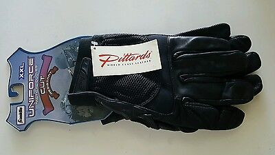 Franklin Uniforce Kevlar Leather Resitant Tactical Gloves Cut Black Size XXL