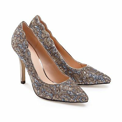New Alexis Champagne Sparkle, Wedding shoes or special event designed by Para...