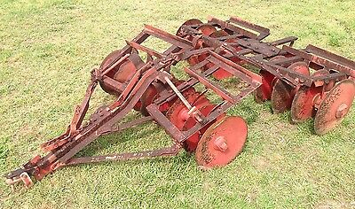 15A  5' Genuine IH International Harvester Farmall Super A 140 Disk Harrow Disc