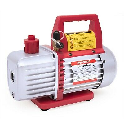 Kozyvacu, Single-Stage Rotary Vane Economy Vacuum Pump (3.5CFM, 5Pa, 1/4HP) Air