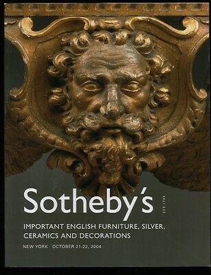 Huge Catalog of Historic Items from English Estates. Furniture, Silverware,etc