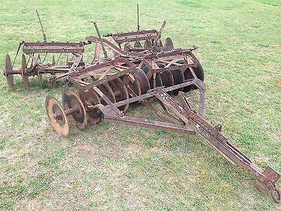 10A  7' Genuine IH International Harvester Farmall Super A 140 Disk Harrow Disc