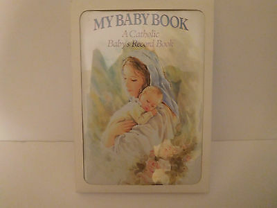 My Baby Book - 1997 - A Catholic Baby's Record Book - New in package