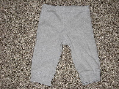 Baby Boys Carter's Gray Thermal Pants Size 6 Months