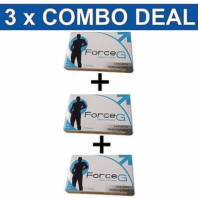 Force G Premature Ejaculation Delay Pills Prolong Sex And Pleasure 18PK