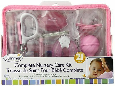 Summer Infant Complete Nursery Care Kit Shower Health Grooming Baby Girl Gift