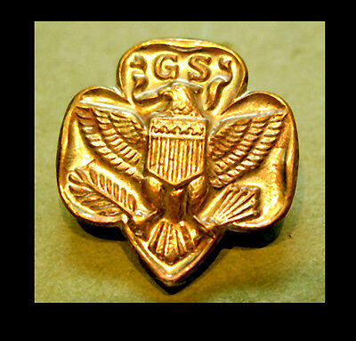 MEMBERSHIP PIN 1935-1939 Large Girl Scout Eagle Logo Collector GIFT Combine