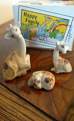 1978-1987 Wade Lot Whimsies Happy Family GIRAFFE, MINT IN BOX (box hand labeled)