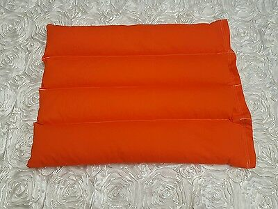 3.5kg weighted lap blanket (autism, adhd, sensory) plain orange
