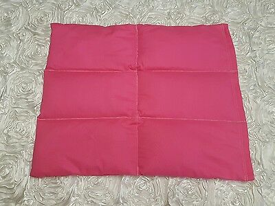 2.5kg weighted lap blanket (autism, adhd, sensory) plain pink
