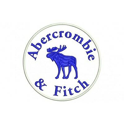 Iron Patch bestickt Patch zona ricamata parche bordado ABERCROMBIE & FITCH