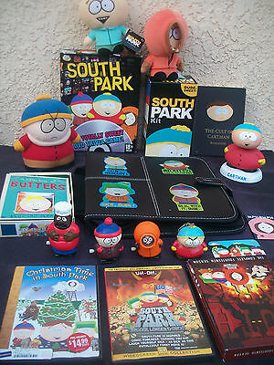 Big Collectable South Park Lot Dvds Plush Games & More Sale