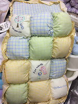 2 piece Crib bedding includes Quilt and Pillow from the Design company