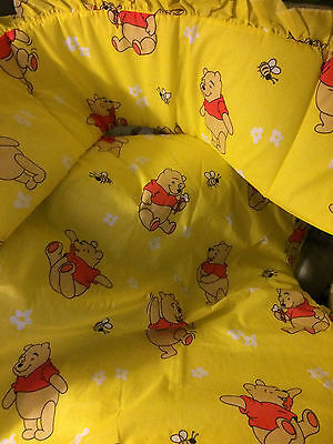 Nursery Baby Bedding Crib bedding, Quilt & bumper, Winnie the Pooh Yellow