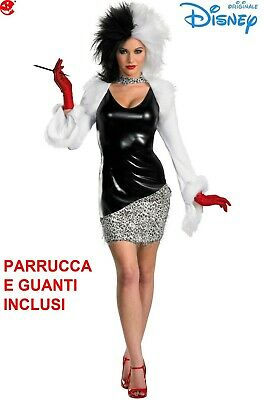 Costume donna Crudelia Demon sexy originale Disney