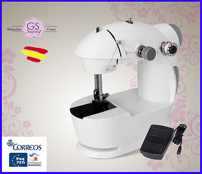 Mini MAQUINA DE COSER de Viaje GS Sewing PORTATIL BN3401 A PEDAL Visto en TV