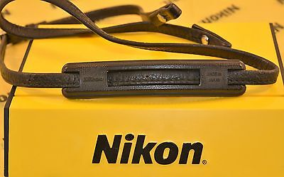 Nikon F/F2 Original Leather Camera Neck Strap and Pad