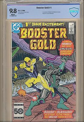Booster Gold 1 CBC 9.8 White Pages 1st appearance Booster Gold!